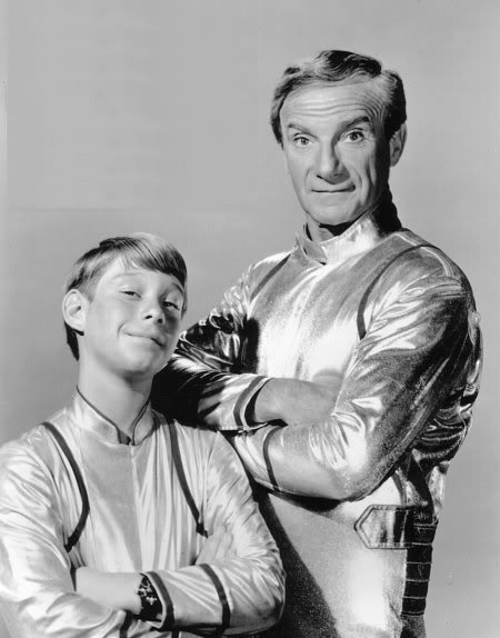 Dr. Smith and Will in Lost in Space