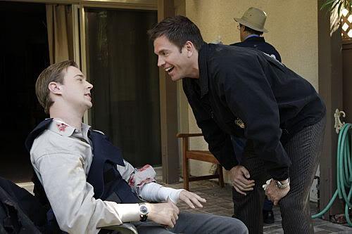 Tony mocks Tim in NCIS