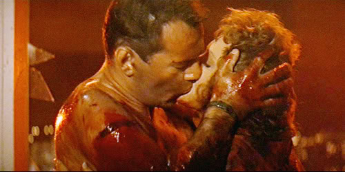 John and Holly in Die Hard