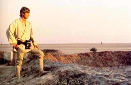 Luke in Star Wars
