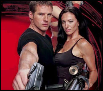 John and Aeryn of Farscape