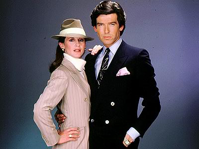 Laura Holt and Remington Steele