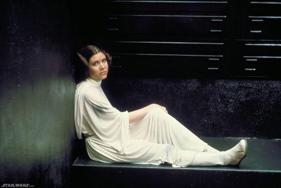 Princess Leia at her rescue