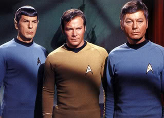 Original Star Trek trinity