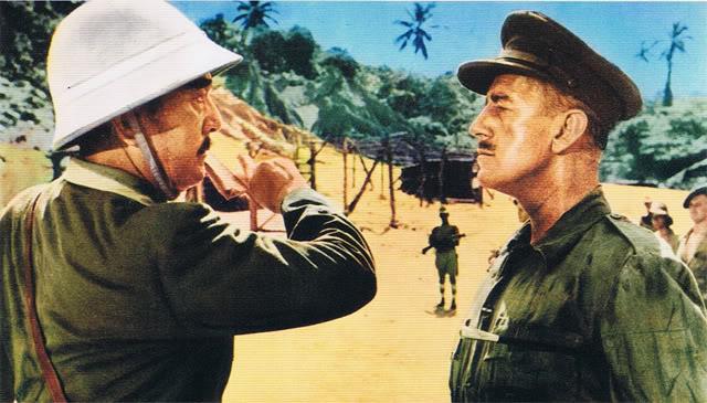 Colonel Nicholson in The Bridge on the River Kwai