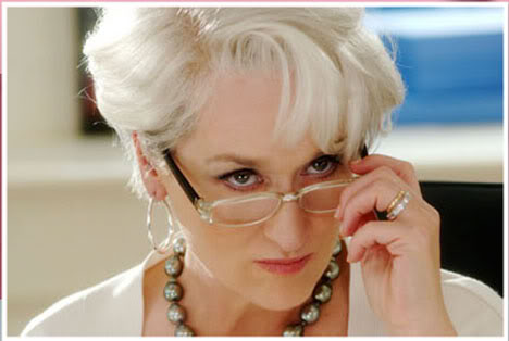 Miranda in The Devil Wears Prada