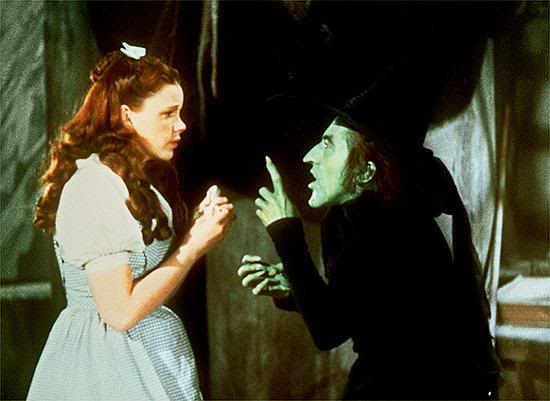 The Witch of the West is Dorothy's Shadow