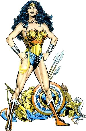 Wonder Woman as warrior