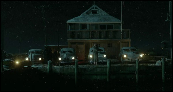 Lights from land in The Finest Hours